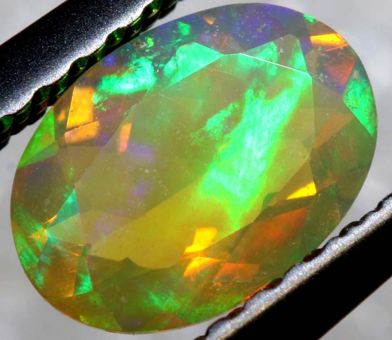 0.50 CTS ETHIOPIAN WELO FACETED OPAL STONE FOB-1267
