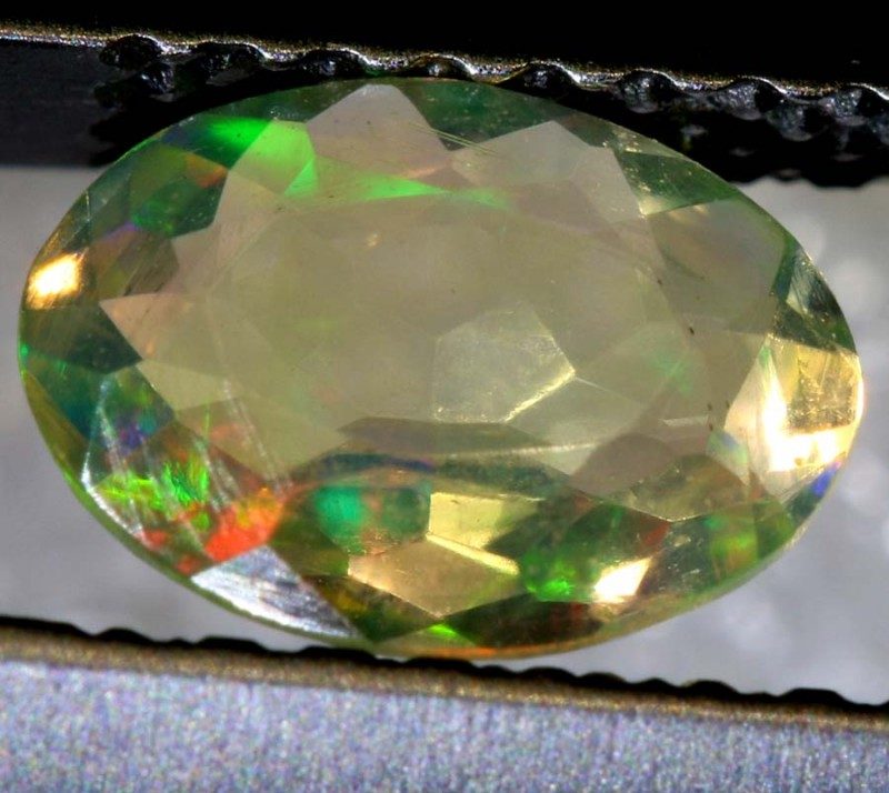 0.50 CTS ETHIOPIAN WELO FACETED OPAL STONE FOB-1275