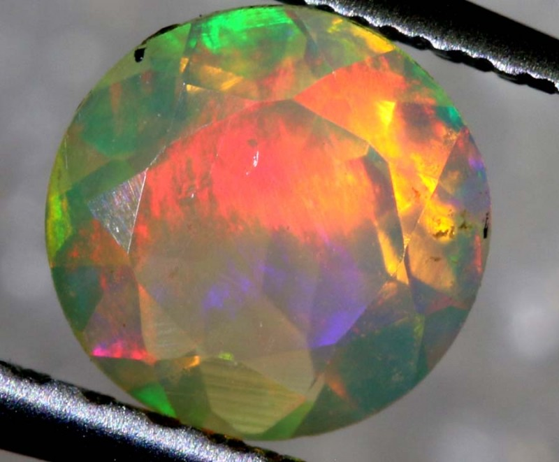 0.35 CTS ETHIOPIAN WELO FACETED OPAL STONE FOB-1282