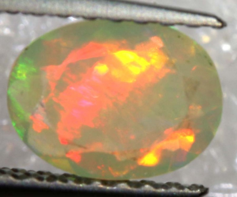 0.45 CTS ETHIOPIAN WELO FACETED OPAL STONE FOB-1286