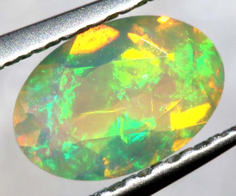 0.20 CTS ETHIOPIAN WELO FACETED OPAL STONE FOB-1297