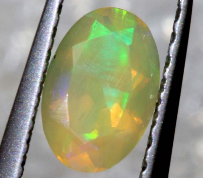 0.20 CTS ETHIOPIAN WELO FACETED OPAL STONE FOB-1298