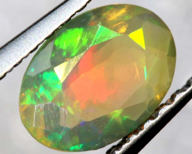 0.45 CTS ETHIOPIAN WELO FACETED OPAL STONE FOB-1299