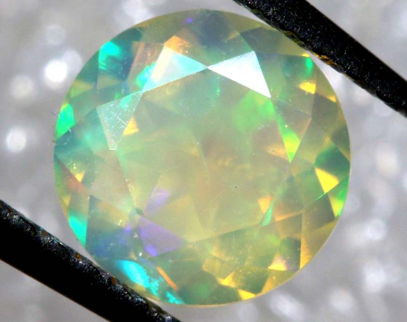 0.60 CTS ETHIOPIAN  FACETED OPAL STONE FOB-1305