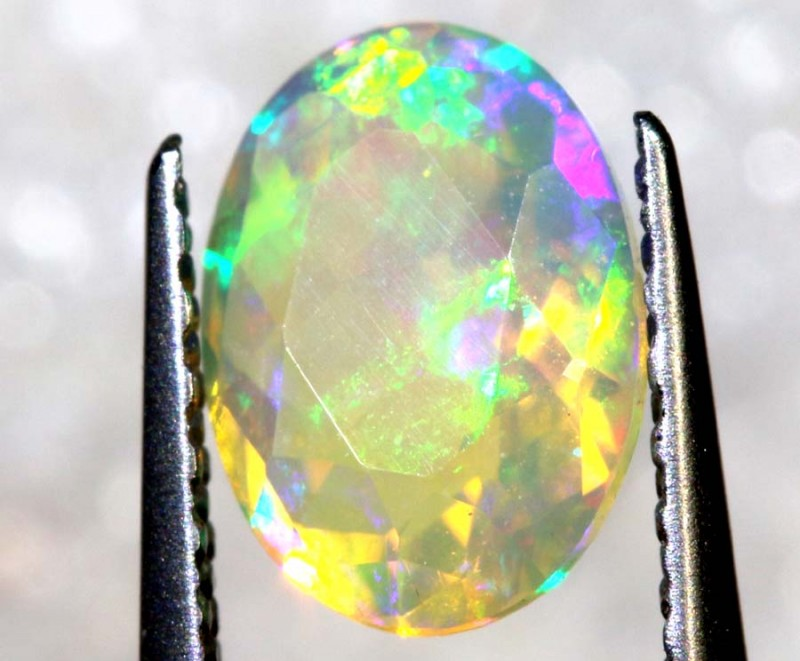0.55 CTS ETHIOPIAN FACETED STONE FOB-1306