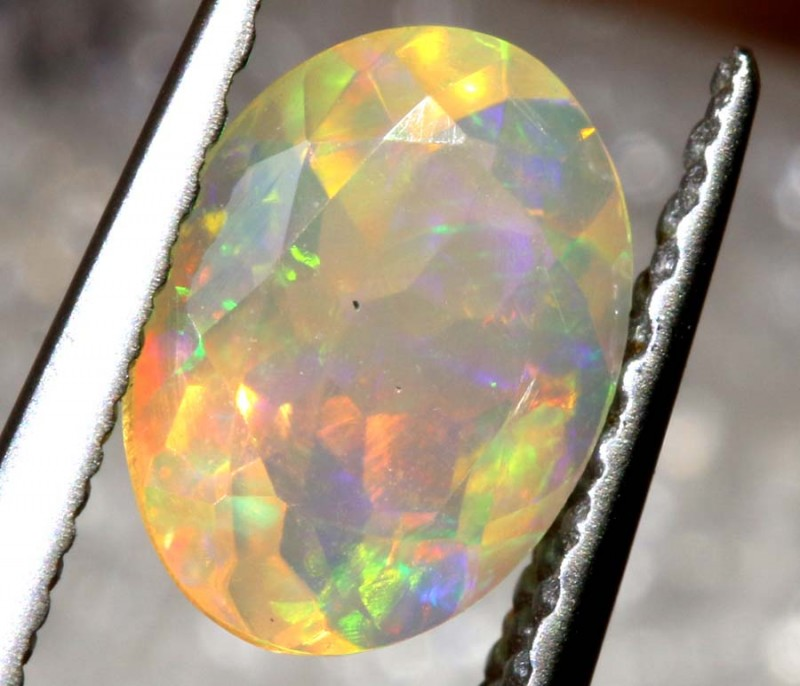 0.50 CT ETHIOPIAN FACETED STONE FOB-1308