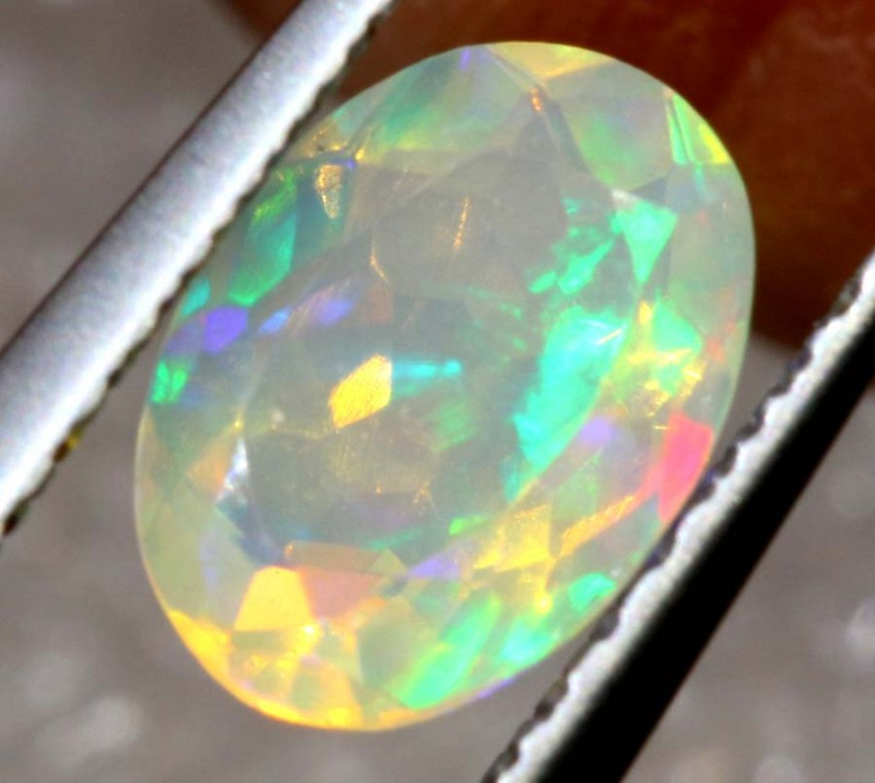 0.50 CT ETHIOPIAN FACETED STONE FOB-1310