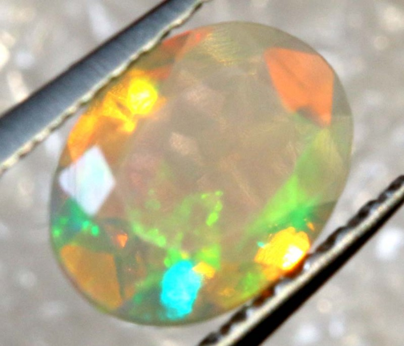 0.35 CT ETHIOPIAN FACETED STONE FOB-1317