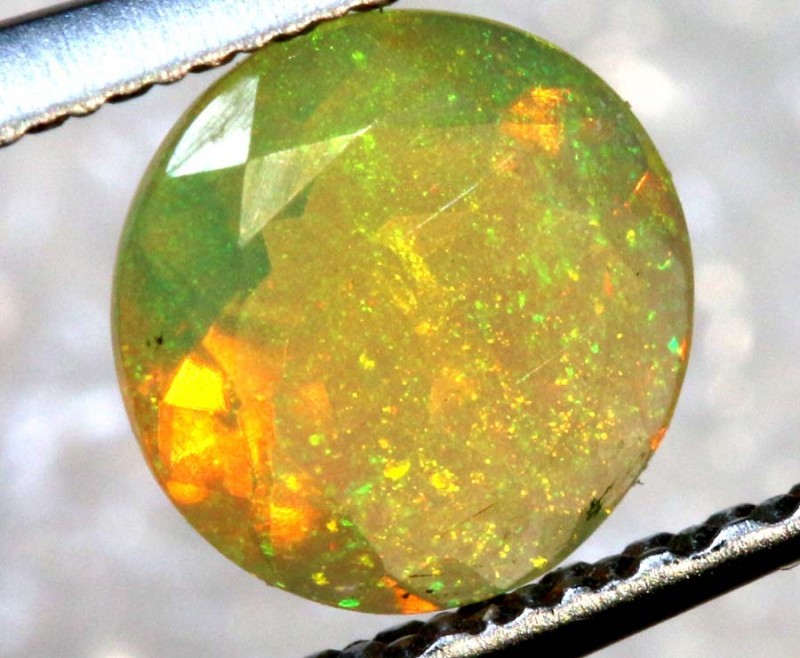 0.40 CT ETHIOPIAN FACETED STONE FOB-1324