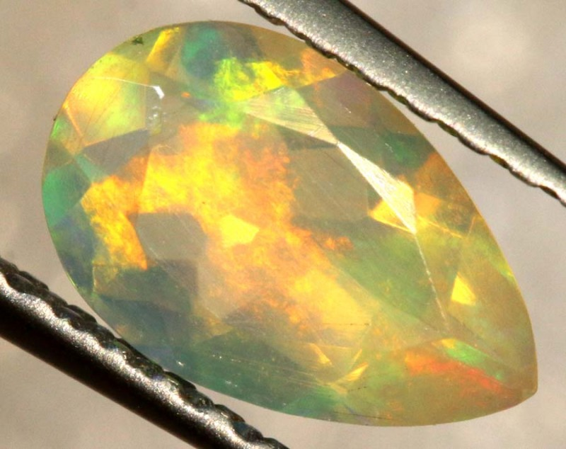 0.50 CT ETHIOPIAN FACETED STONE FOB-1334