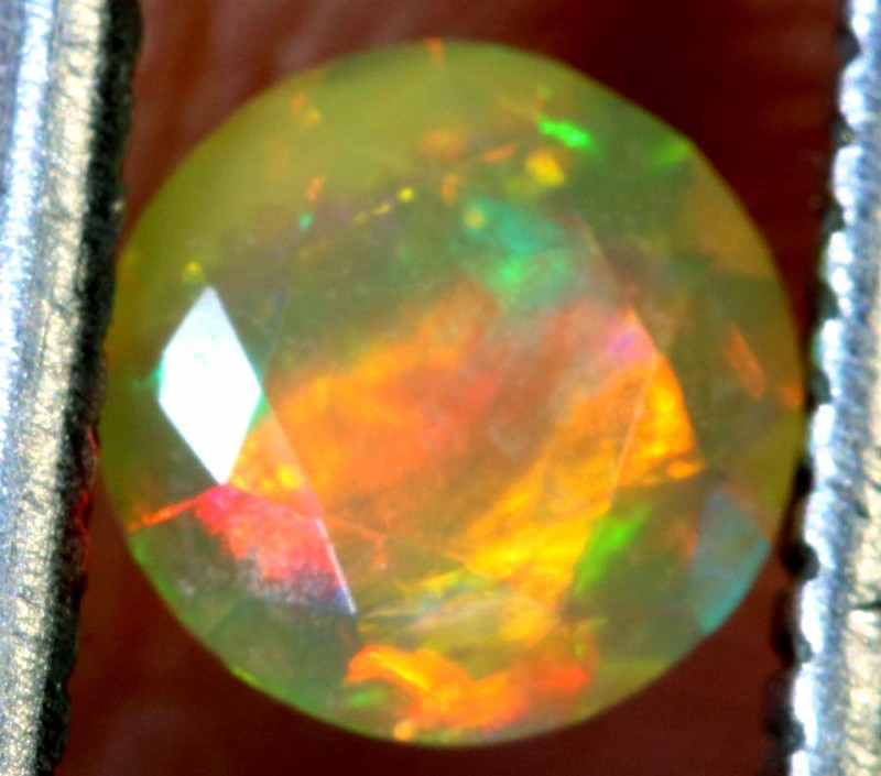 0.30 CT ETHIOPIAN FACETED STONE FOB-1344