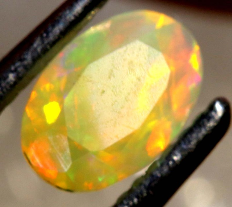 0.25 CT ETHIOPIAN FACETED STONE FOB-1357