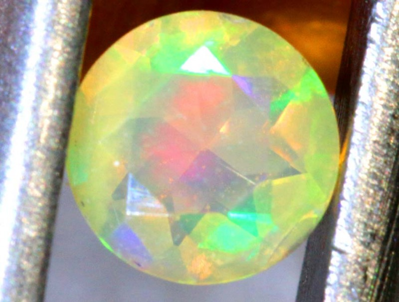 0.25 CT ETHIOPIAN FACETED STONE FOB-1383