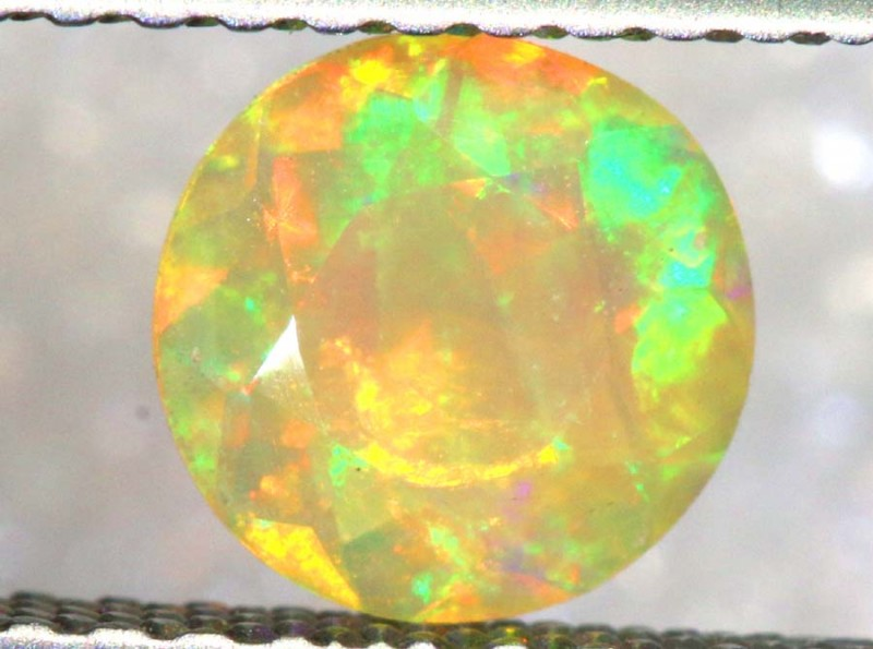 0. 45 CT ETHIOPIAN FACETED STONE FOB-1386