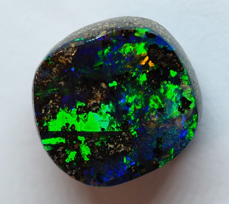 5.80CT QUEENSLAND BOULDER TOP GEM OPAL RI77