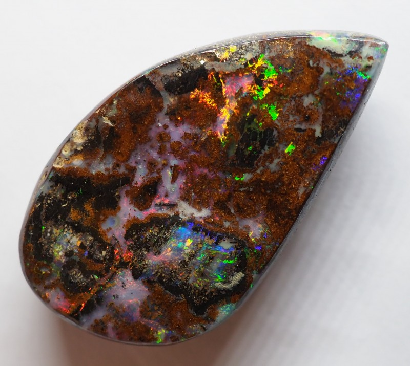 37.80CT VIEW WOOD REPLACEMENT BOULDER OPAL RI92