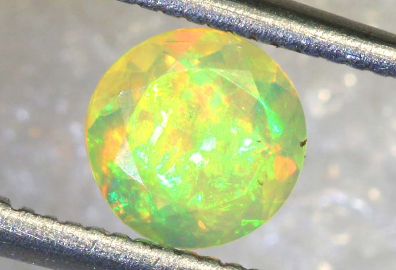 0.50 CT ETHIOPIAN FACETED STONE FOB-1408
