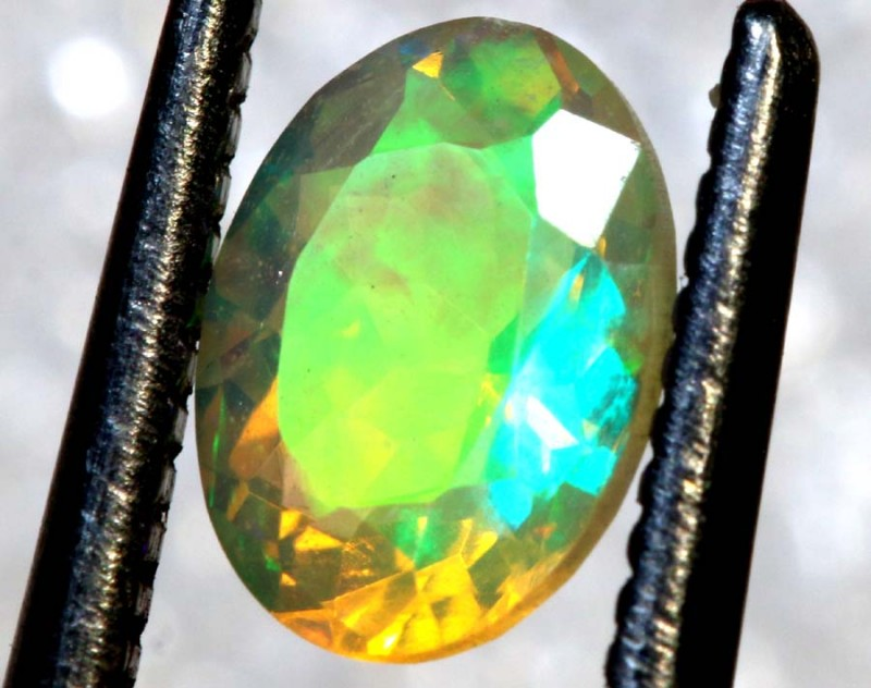 0.55 CT ETHIOPIAN FACETED STONE FOB-1412