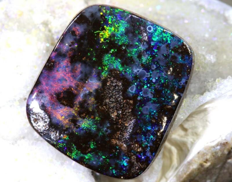 7.89 CTS Boulder Opal Polished ANO-518
