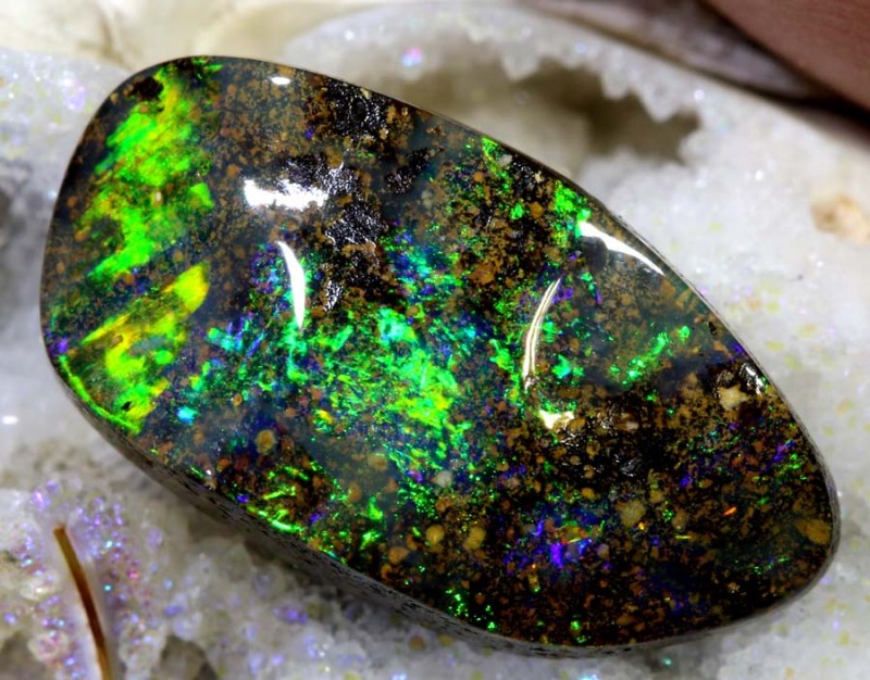 5.87 CTS Boulder Opal Polished ANO-528
