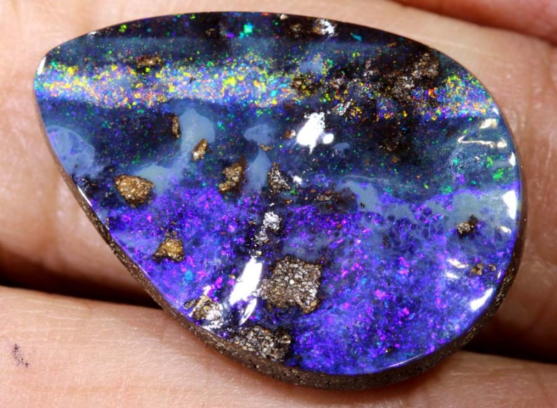 12.93 CTS Boulder Opal Polished ANO-529