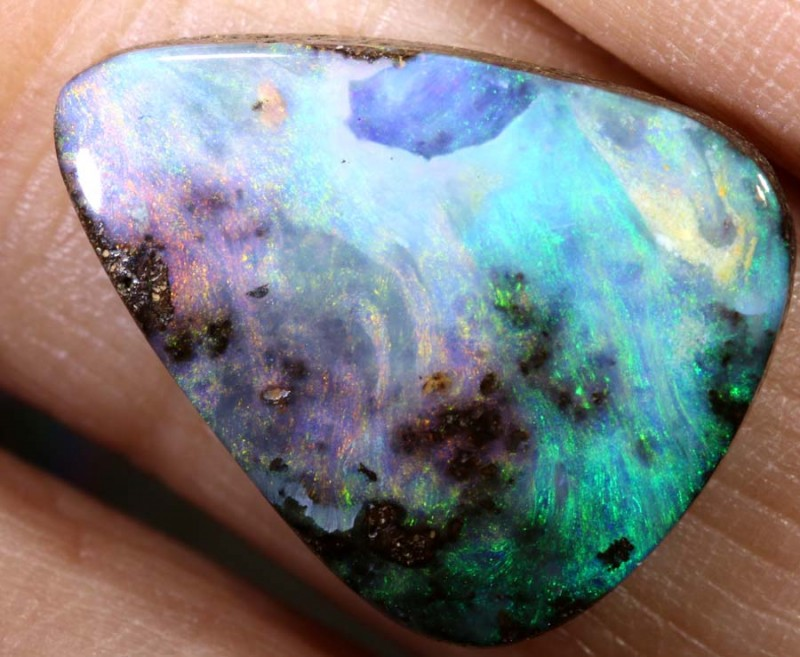 8.45 CTS Boulder Opal Polished ANO-531