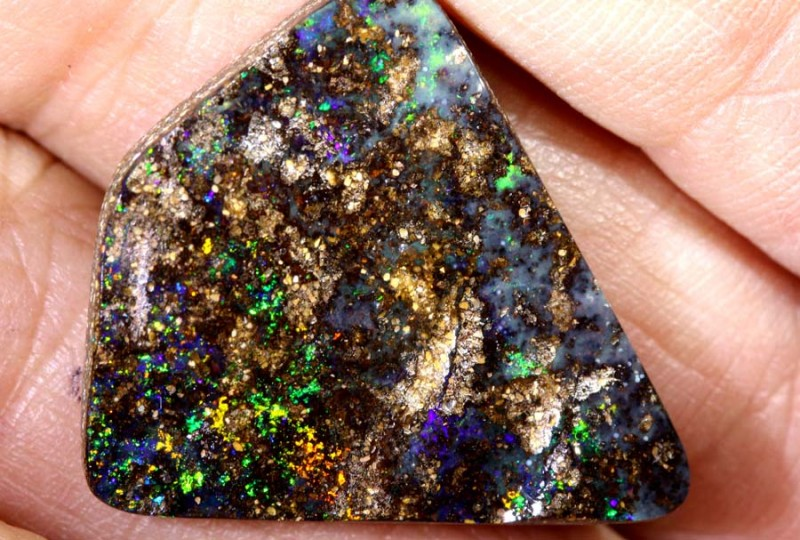 14.16 CTS Boulder Opal Polished ANO-538