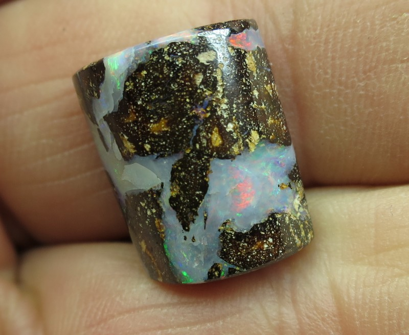"""14cts.""""BOULDER OPAL~FROM OUR MINES"""""""