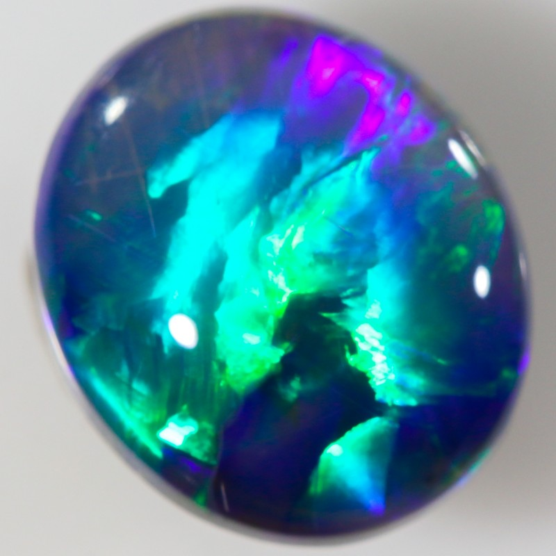 2.90 CTS TOP POLISHED DARK OPAL[NO1]