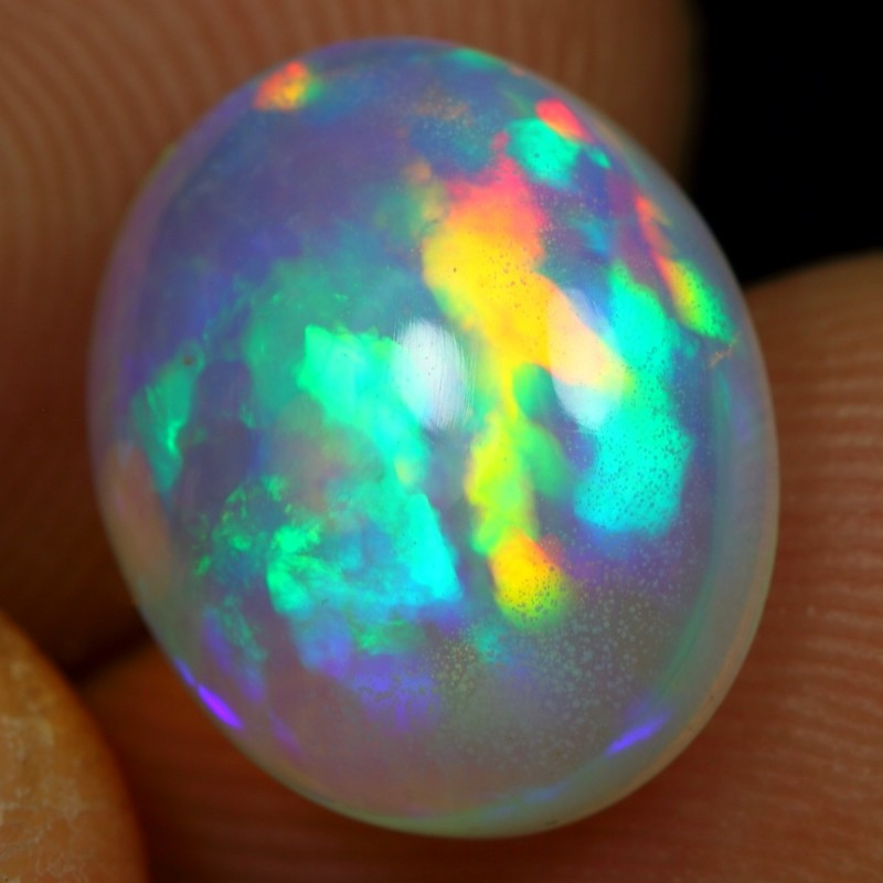 3.60cts Puzzle Honeycomb Ethiopian Opal