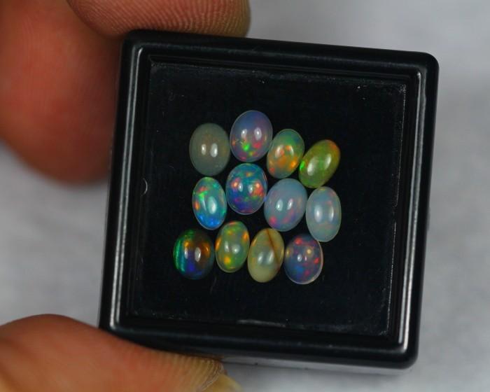 2.35Ct Natural Ethiopian Welo Opal Lot OG44