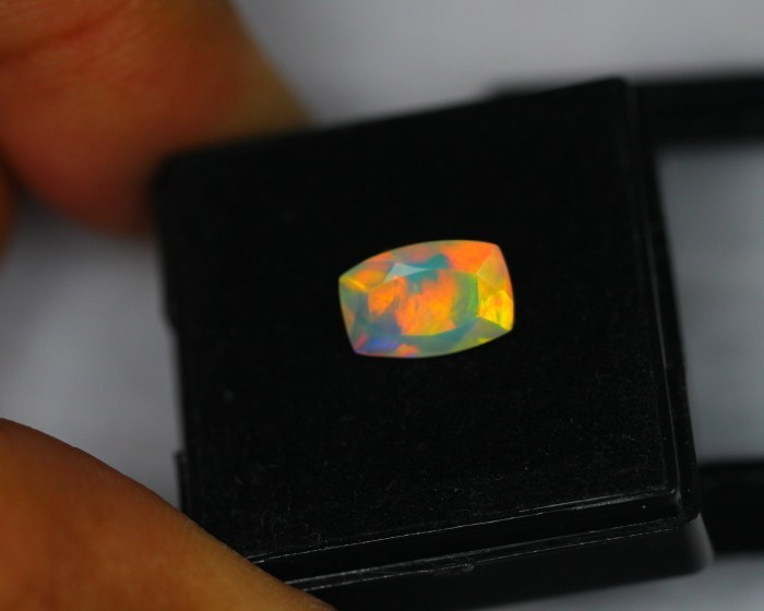 1.14Ct Natural Ethiopian Welo Faceted Opal Lot MMB3