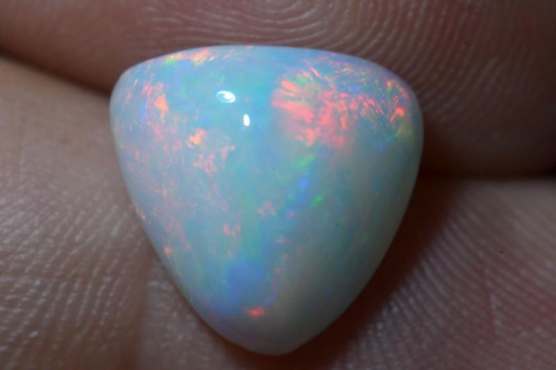 5.24ct White Large Ethiopian Welo bright Opal