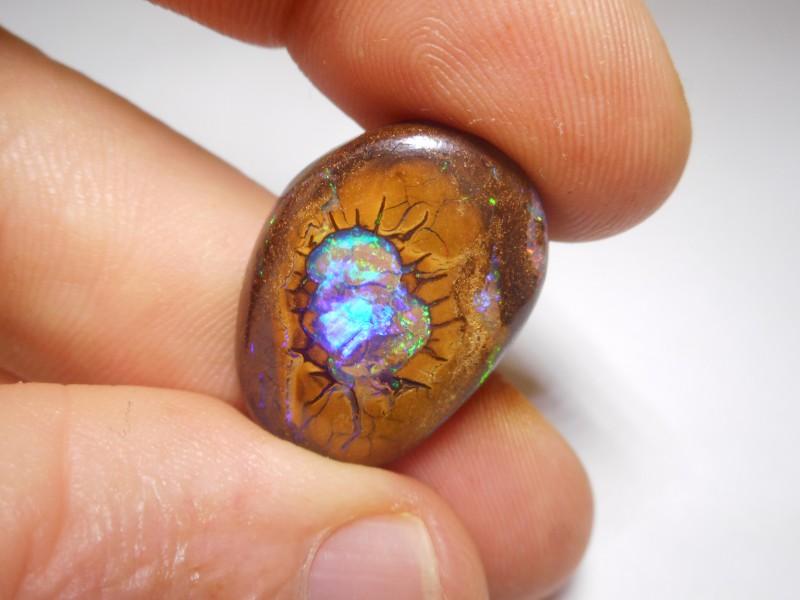 21.35ct Boulder Opal Polished Stone