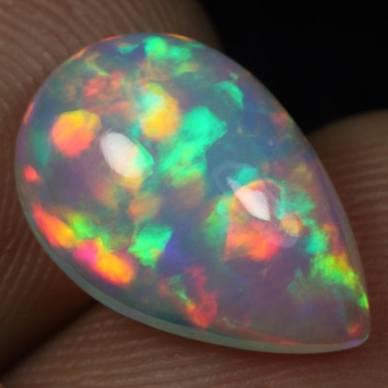2.80cts BRUSH RAINBOW CRAYON Natural Ethiopian Welo Opal
