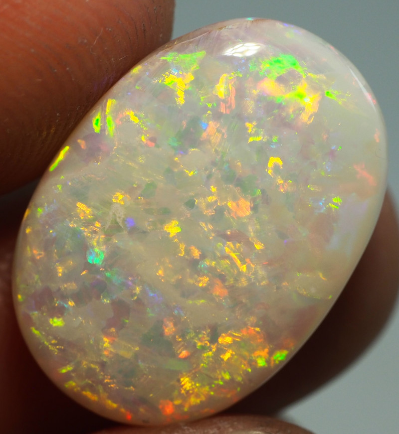 8.45CT SHELL GEM FOSSIL CRYSTAL COOBER PEDY OPAL  SS01227