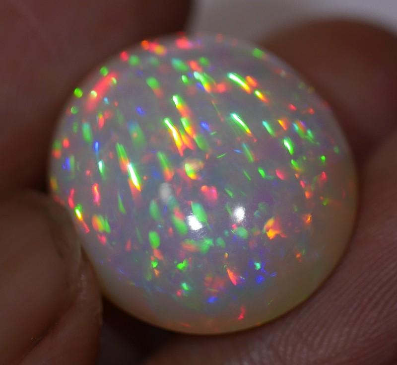 18 CT Stunning Honeycomb Rainbow Prism Opal