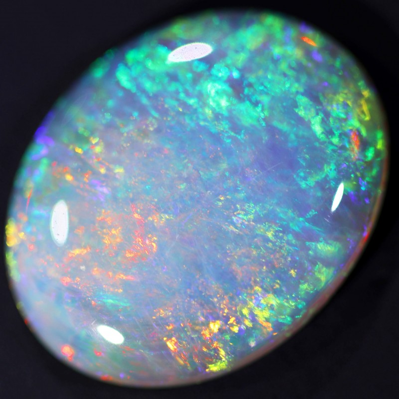 3.8 CTS CRYSTAL OPAL STONE BB239