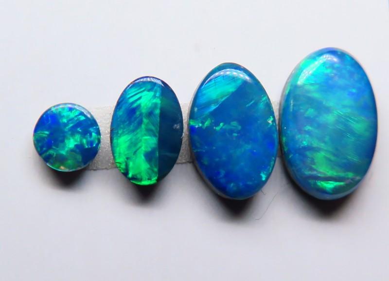 Australian Doublet Opal 4 stone parcel
