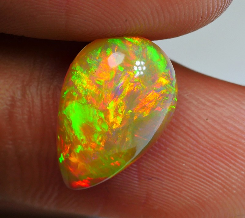 2.85 CRT BROWN BASE 3D GOLDEN FIRE DELUXE FULL COLOR WELO OPAL