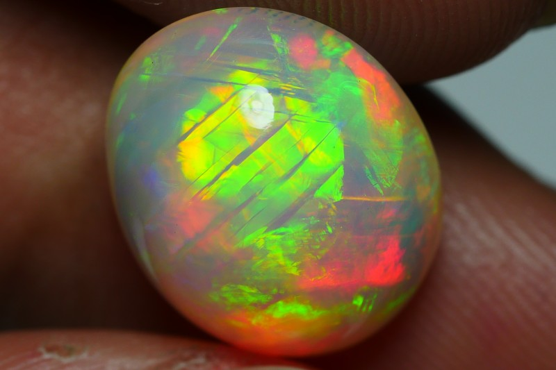 5.20 CRT STUNNING BAMBOO LEAF PATTERN 5/5 FULL COLOR WELO OPAL