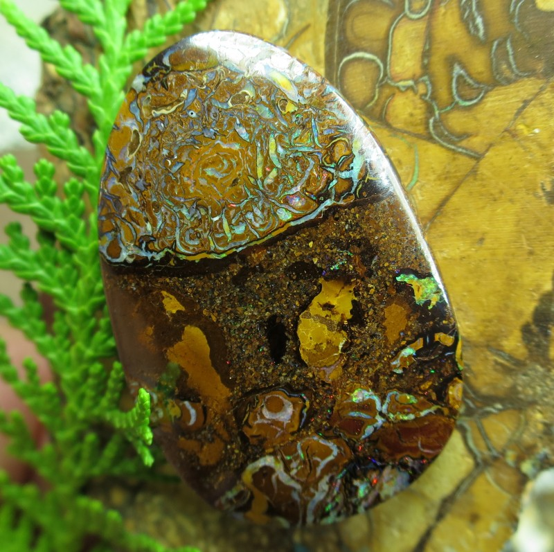 "53cts.""BOULDER MATRIX OPAL~FROM OUR MINES"""