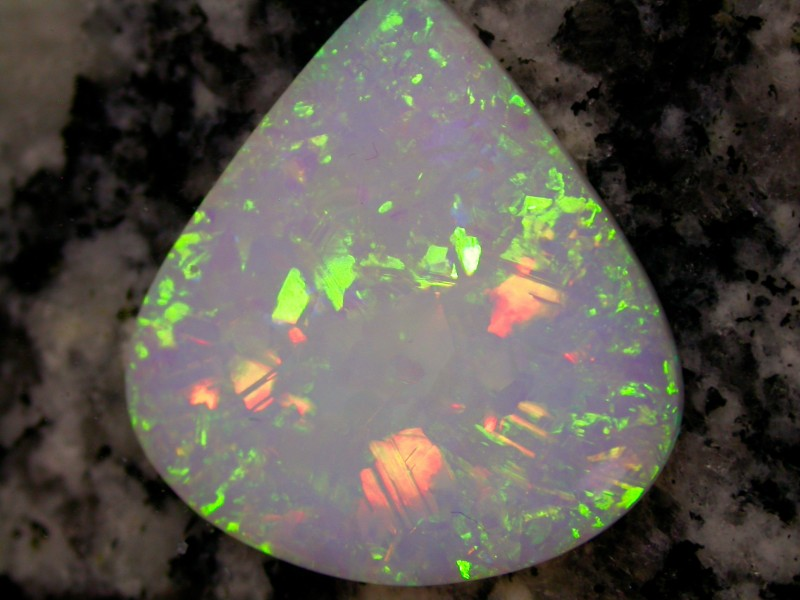 9.5ct HIGHEST QUALITY FULLY SATURATED EXTREEM 3D NONDIRECTIONAL TEARDROP OP