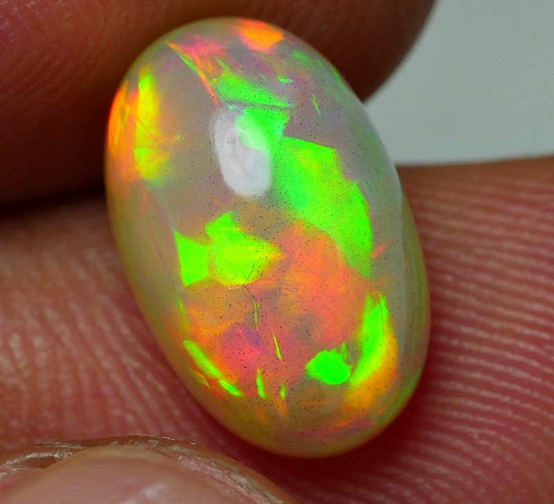 3.60 CRT SUPER GOLDEN NEON BRIGHT DELUXE PUZZLE PATTERN WELO OPAL