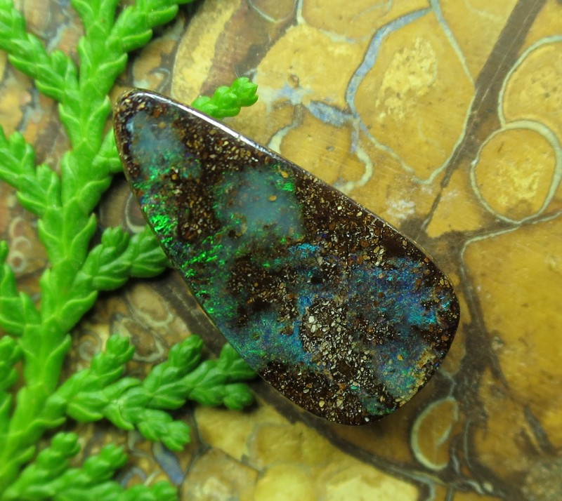 "5cts.""BOULDER OPAL~COMPARE OUR PRICES!"""