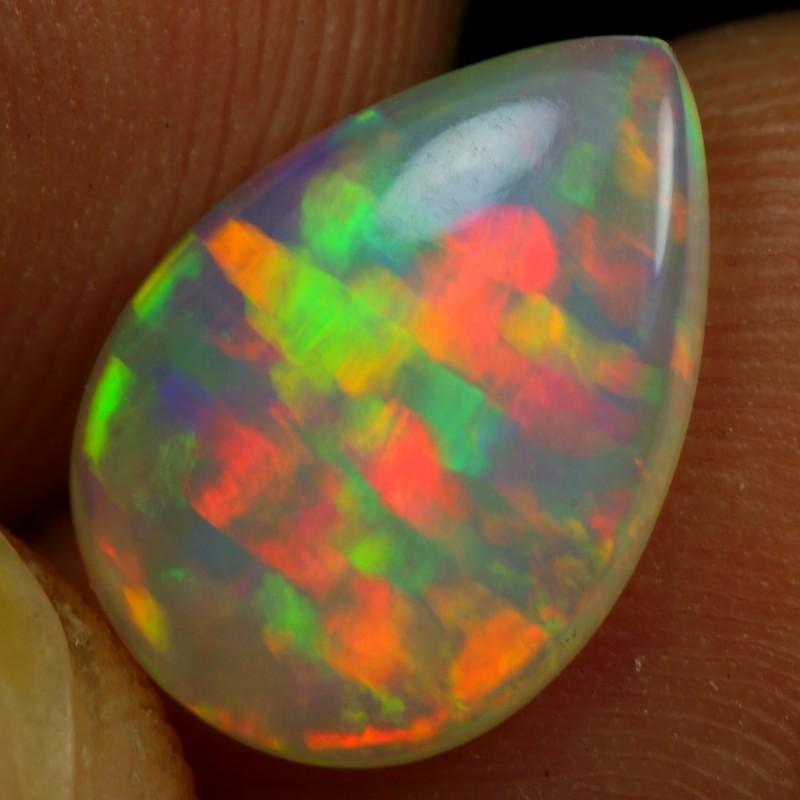 1.45cts Ribbon Pattern Ethiopian Opal