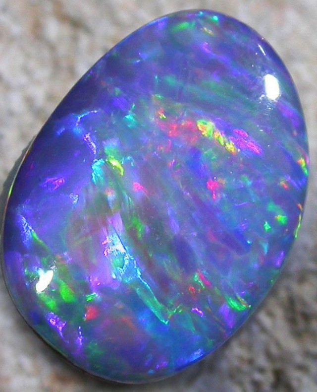 2.6 CTS OPAL SHELL FOSSIL DOUBLET  [SO3219]3