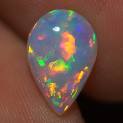 1.43 CT TOP CLASS ! EXCLUSIVE FLASHY MULTI COLOR ETHIOPIAN OPAL-AD17