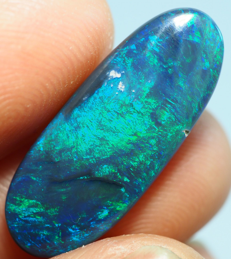 6.15CT LIGHTNING RIDGE BLACK OPAL  SS01378