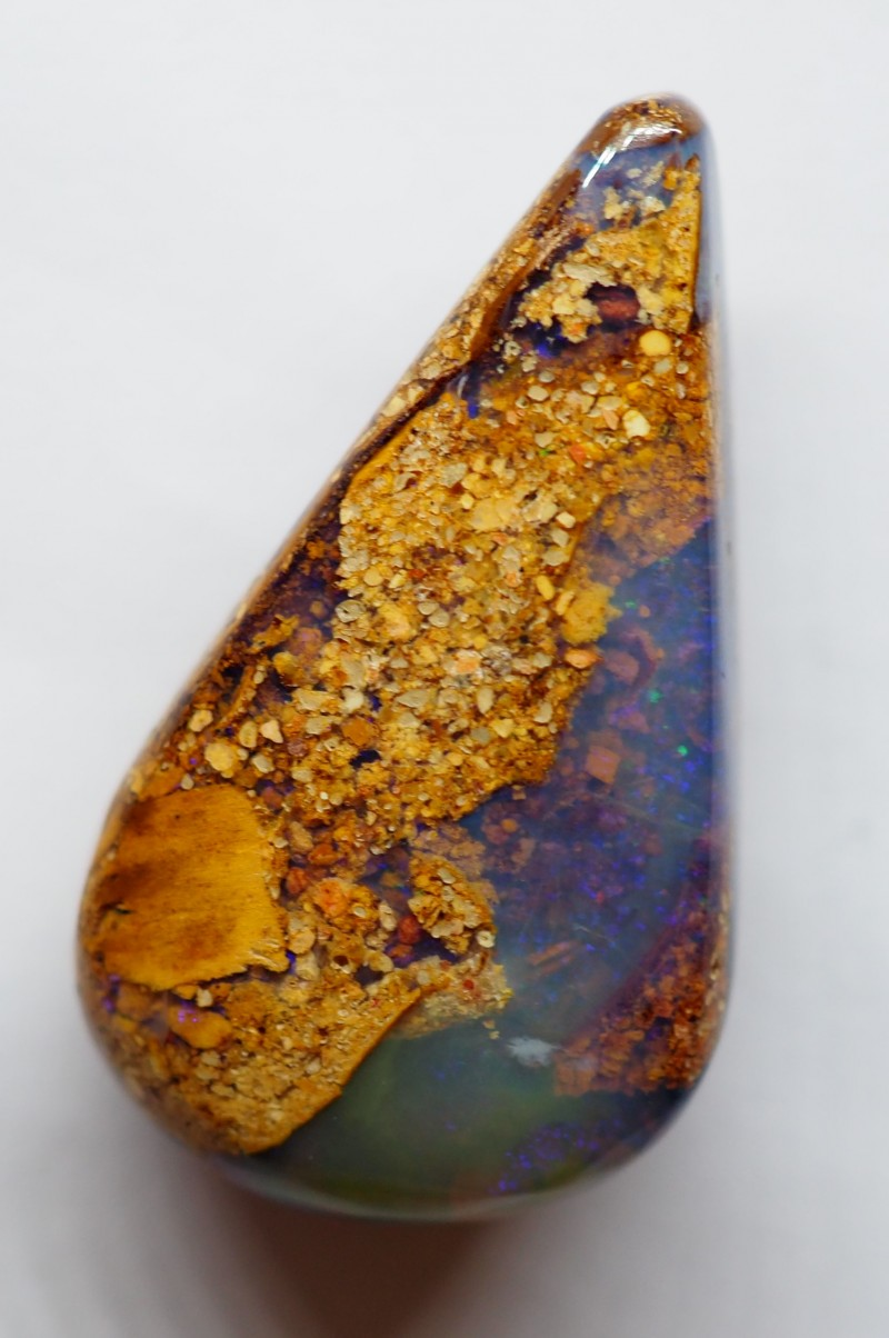19.15CT VIEW PIPE WOOD REPLACEMENT BOULDER OPAL RI149